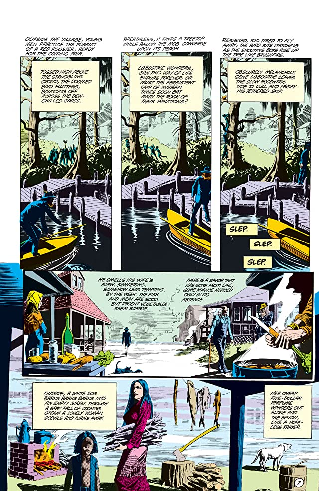 Swamp Thing (1982-1996) #64