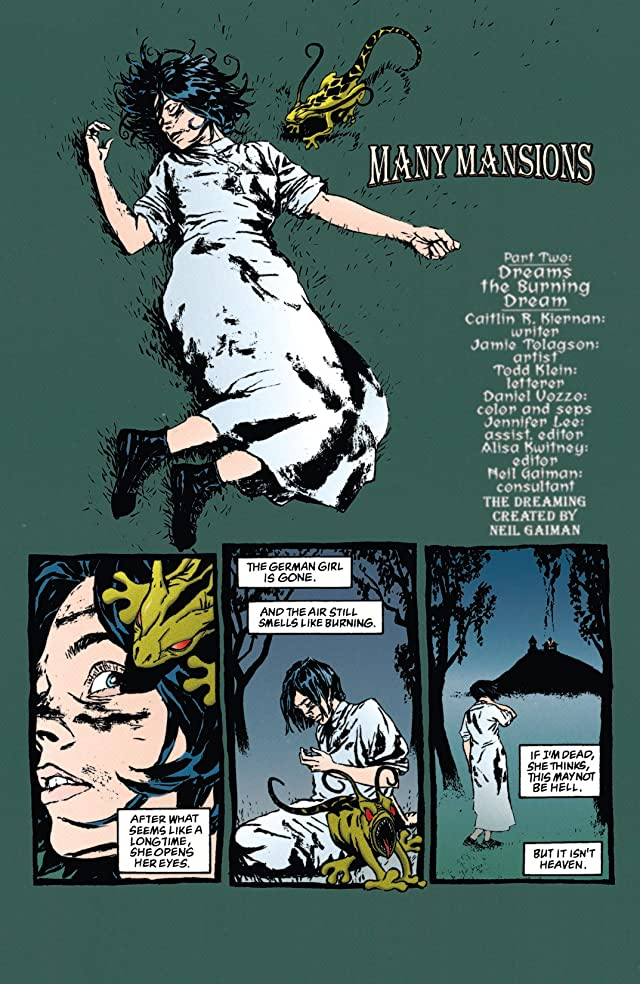 click for super-sized previews of The Dreaming (1996-2001) #28
