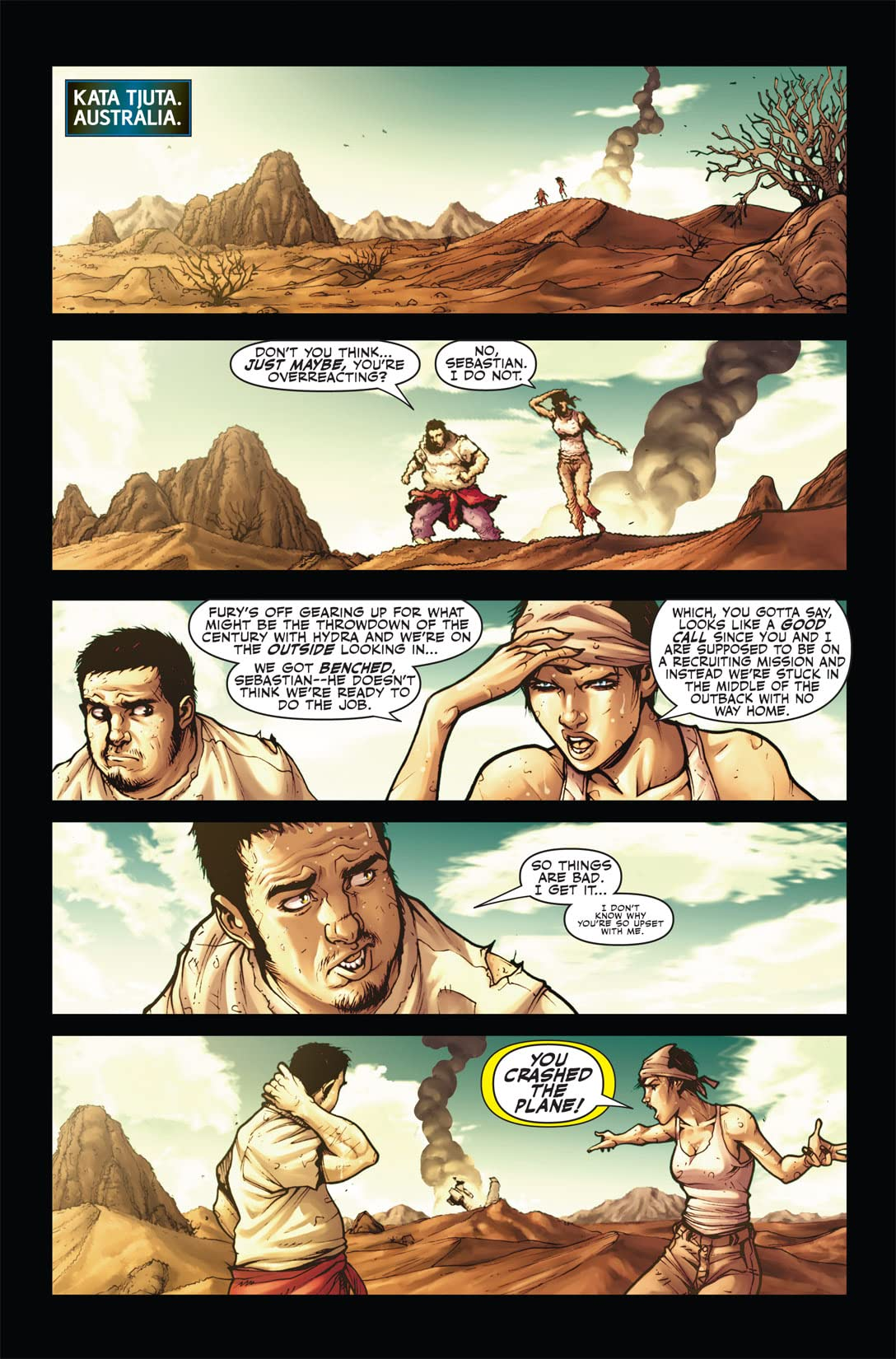 Secret Warriors (2008-2011) #4