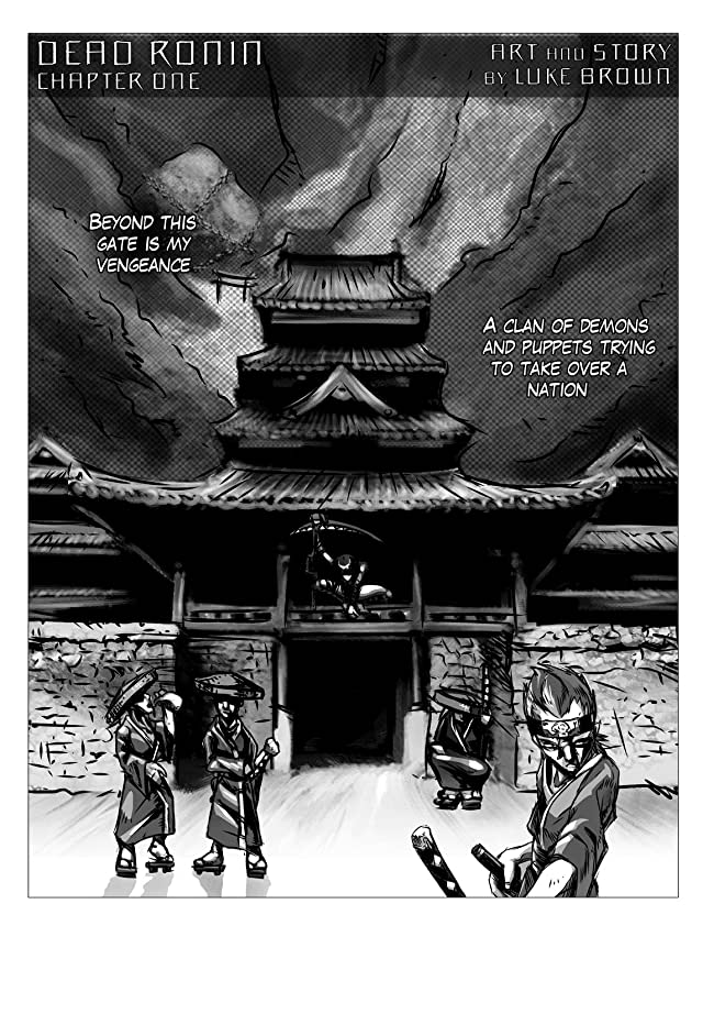 click for super-sized previews of Dead Ronin #1