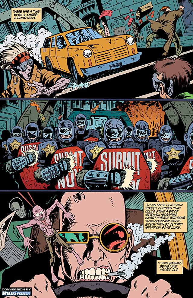 click for super-sized previews of Transmetropolitan #3