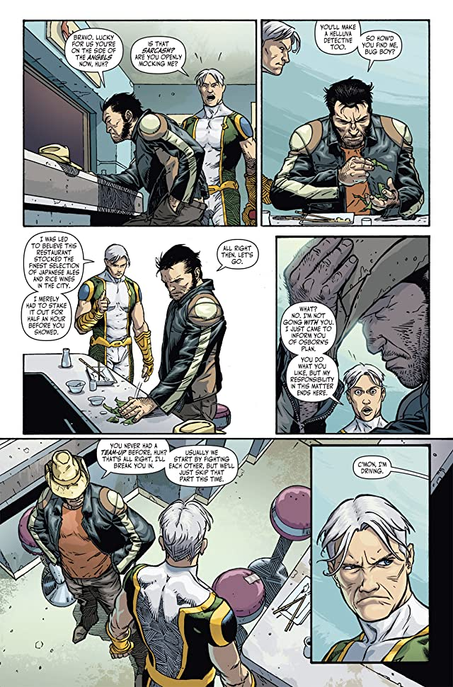click for super-sized previews of Dark Reign: The List: Wolverine