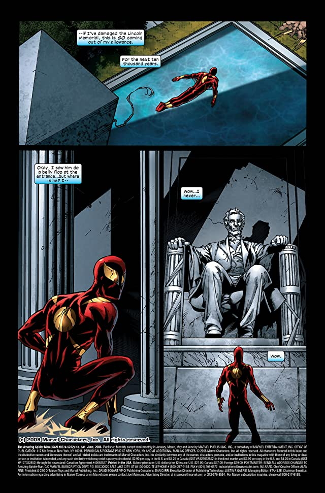 click for super-sized previews of Amazing Spider-Man (1999-2013) #531