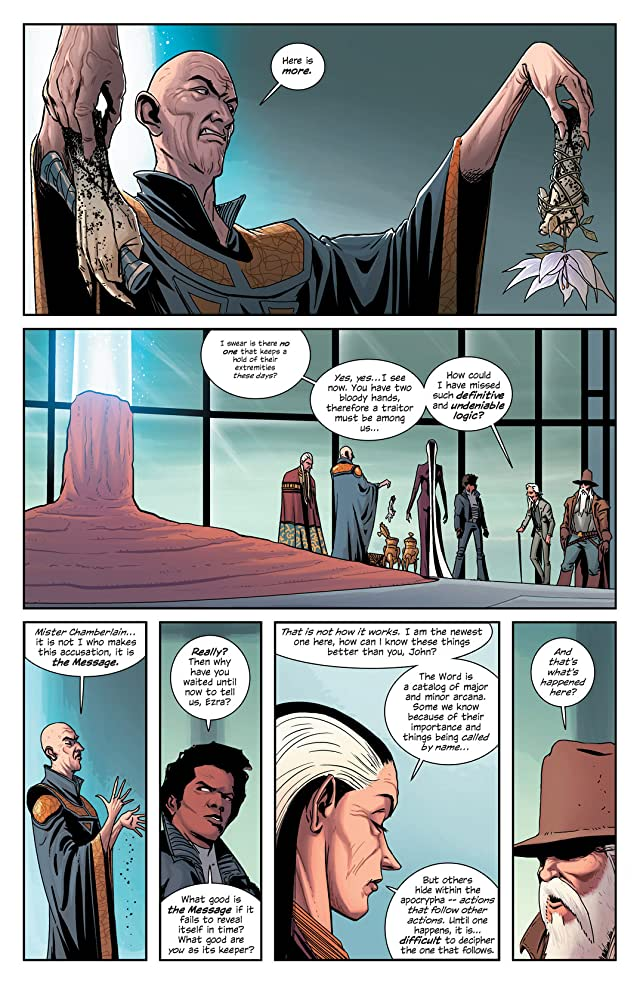 click for super-sized previews of East of West Vol. 2: We Are All One