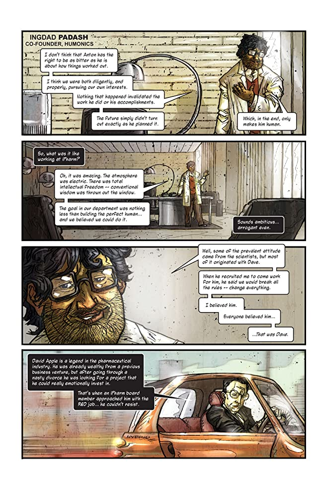 click for super-sized previews of Transhuman Vol. 1