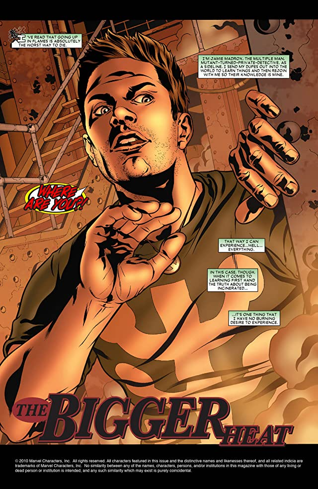 click for super-sized previews of Madrox #4: Marvel Knights