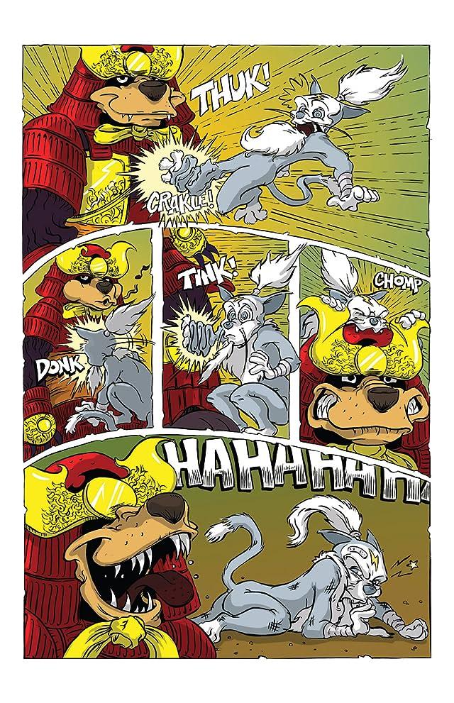 Scratch9: Cat Tails #2