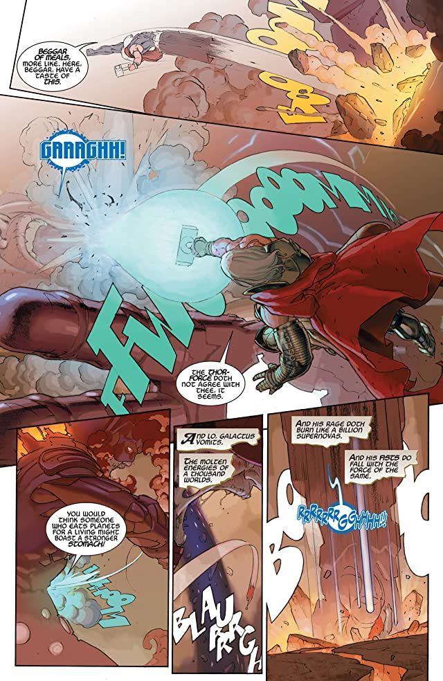 click for super-sized previews of Thor: God of Thunder #21