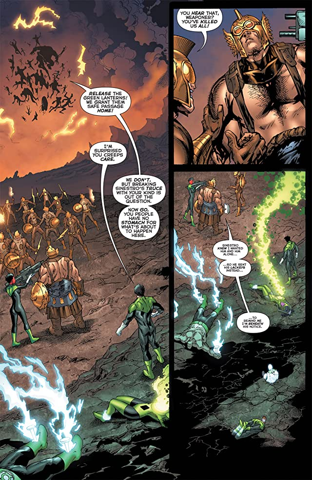 click for super-sized previews of Green Lantern Corps (2006-2011) #56