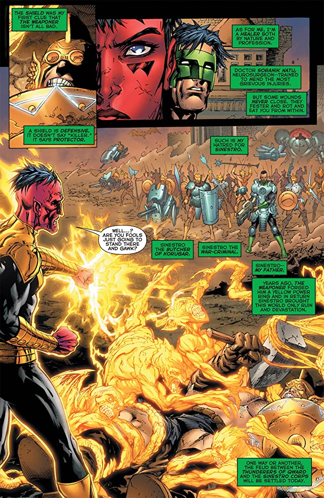 click for super-sized previews of Green Lantern Corps (2006-2011) #57