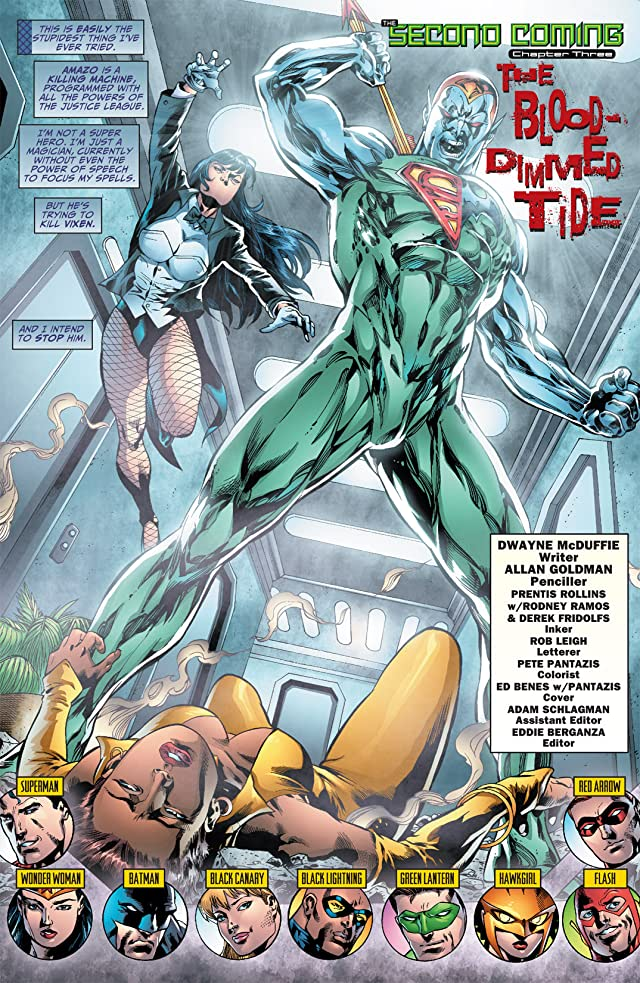click for super-sized previews of Justice League of America (2006-2011) #24