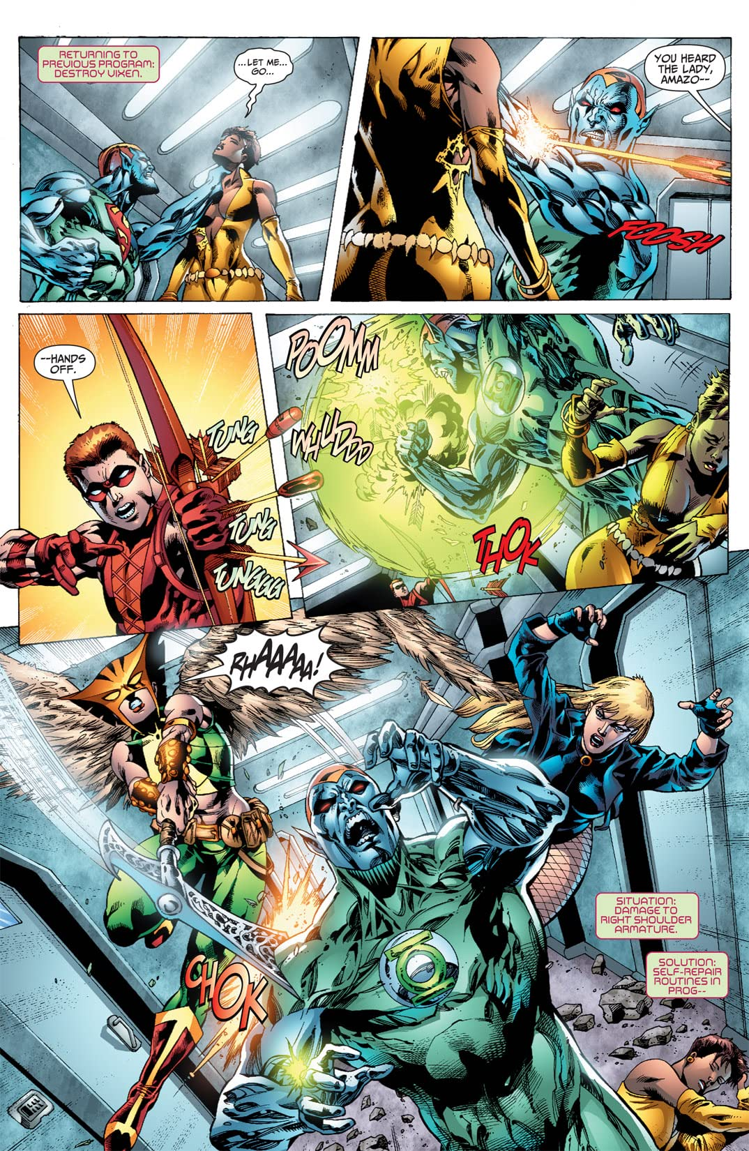 Justice League of America (2006-2011) #24
