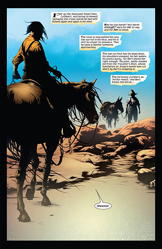 click for super-sized previews of Dark Tower: The Gunslinger Born #6