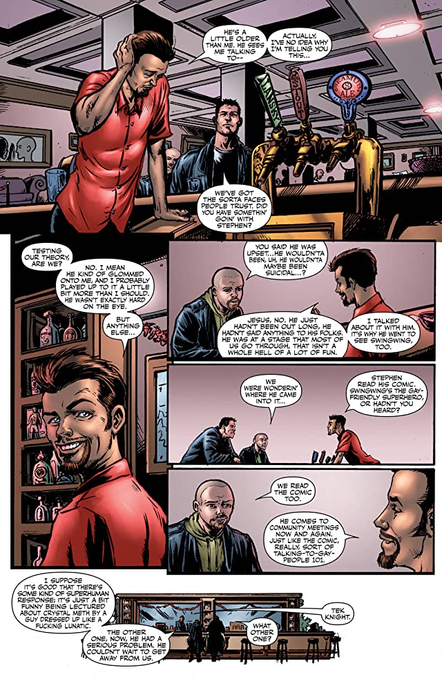 click for super-sized previews of The Boys #8