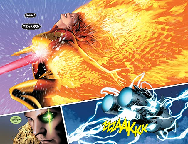 click for super-sized previews of X-Men: Phoenix Endsong #4