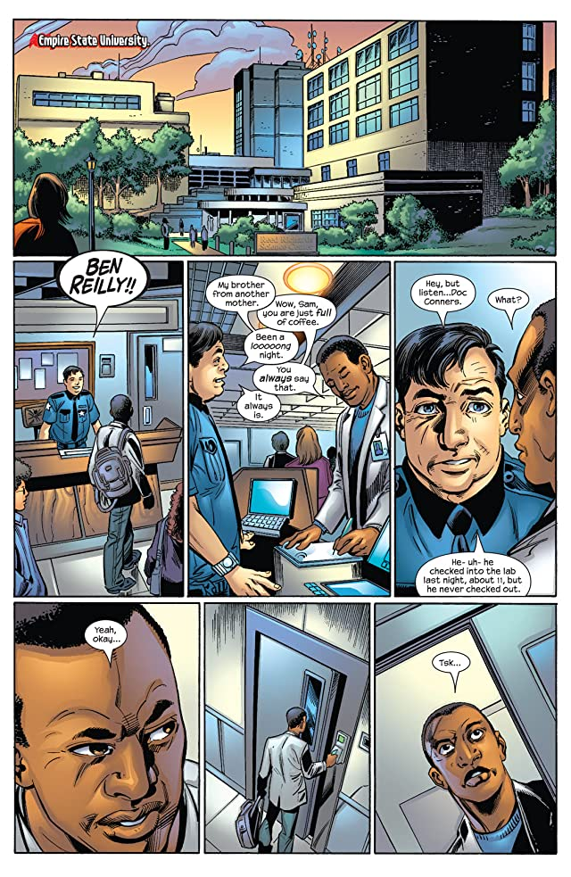 click for super-sized previews of Ultimate Spider-Man (2000-2009) #61