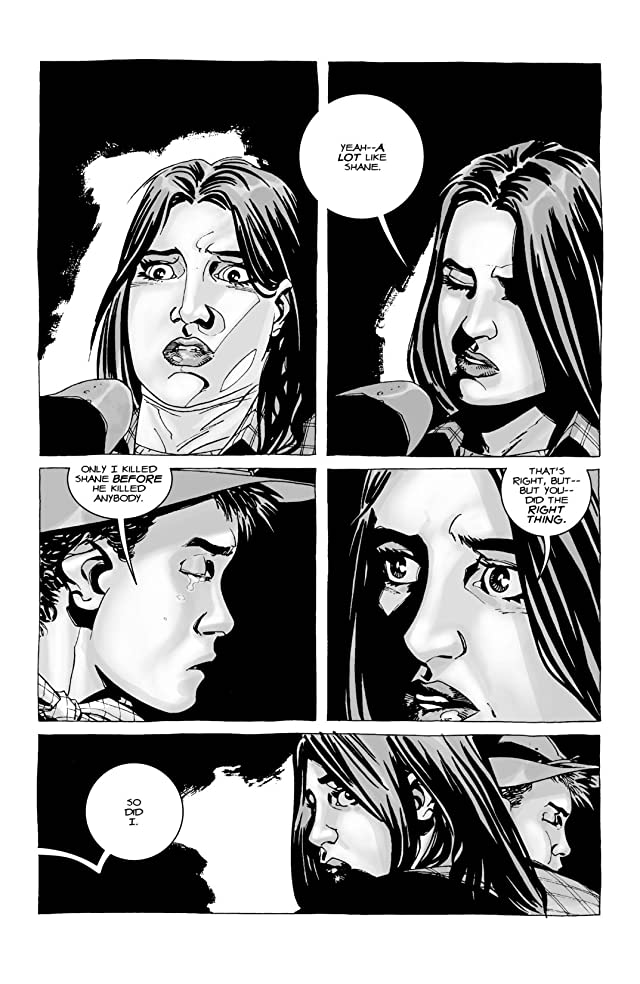 click for super-sized previews of The Walking Dead #18