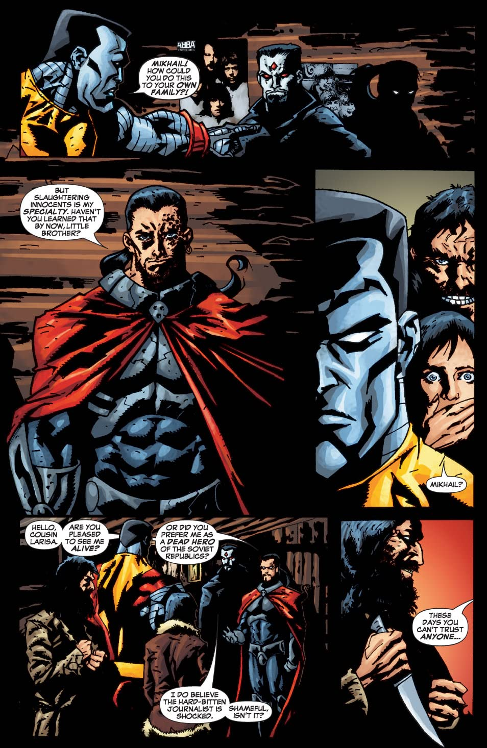 X-Men: Colossus Bloodline #3 (of 5)