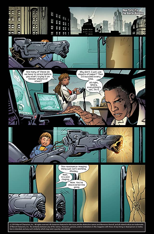 click for super-sized previews of Ultimate Iron Man #5