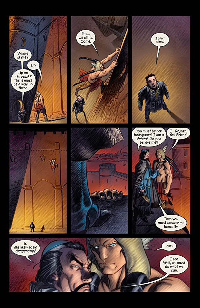 click for super-sized previews of Marvel 1602 #3