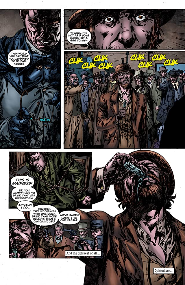 click for super-sized previews of Sherlock Holmes: Year One #6
