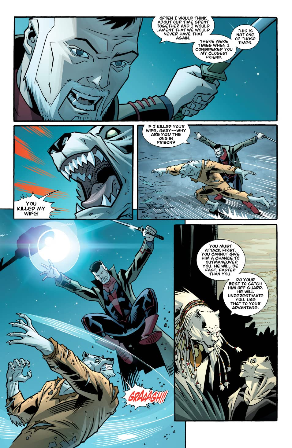 The Astounding Wolf-Man #16