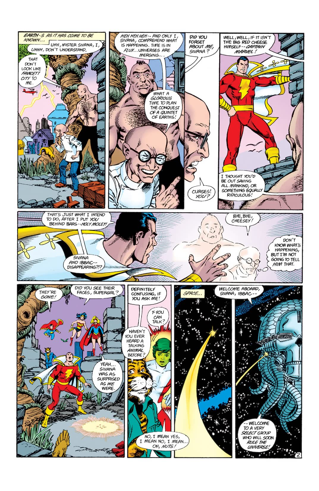 Crisis on Infinite Earths #7