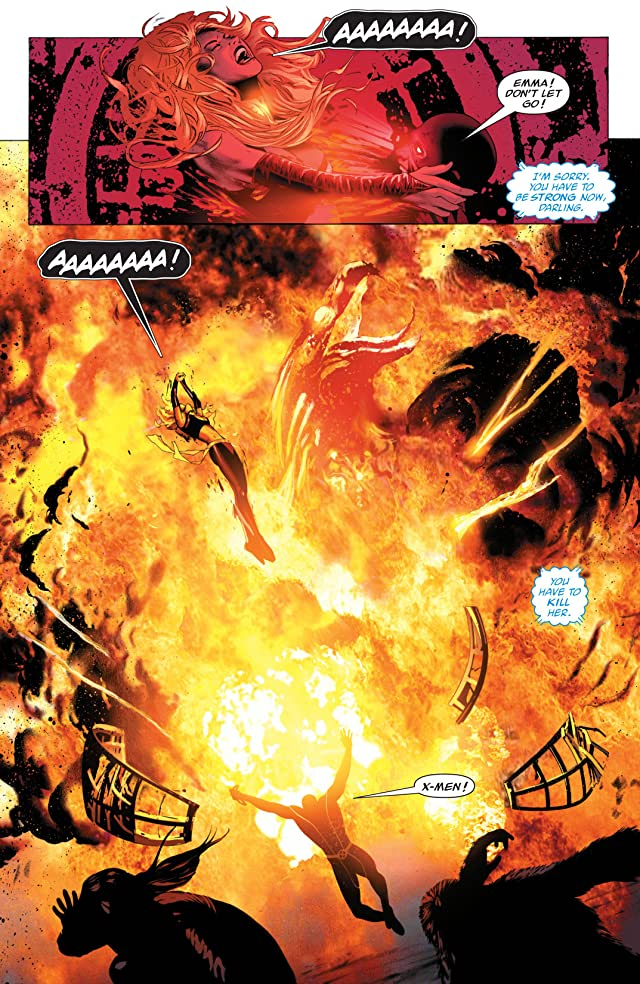 click for super-sized previews of X-Men: Phoenix Endsong #5