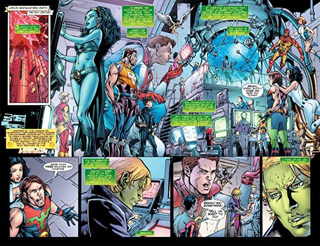 click for super-sized previews of Adventure Comics (2009-2011) #9