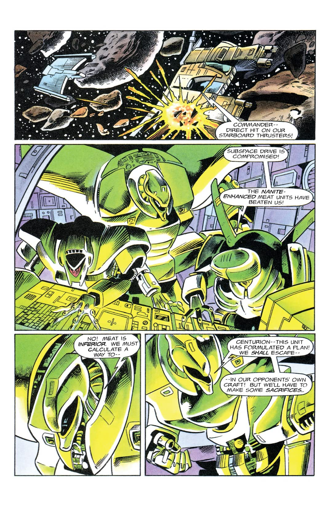 Psi-Lords (1994) #9