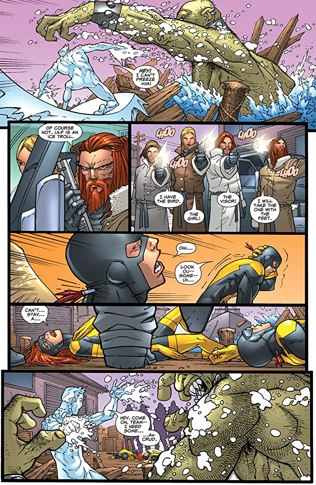 click for super-sized previews of X-Men: First Class #5