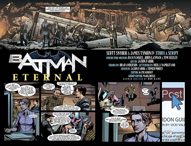 Batman Eternal (2014-2015) #2