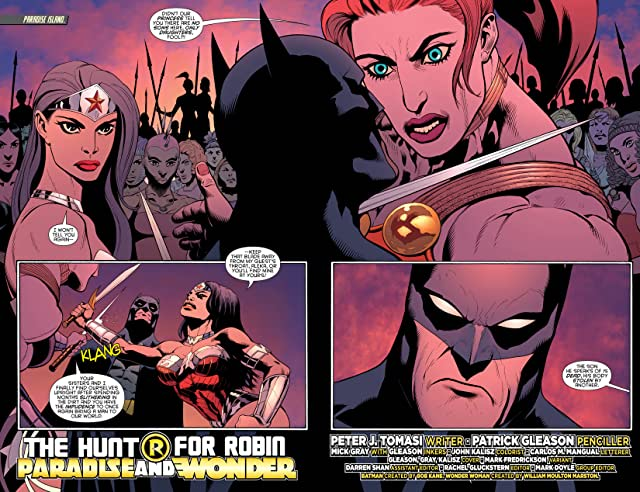 click for super-sized previews of Batman and Robin (2011-2015) #30: Wonder Woman