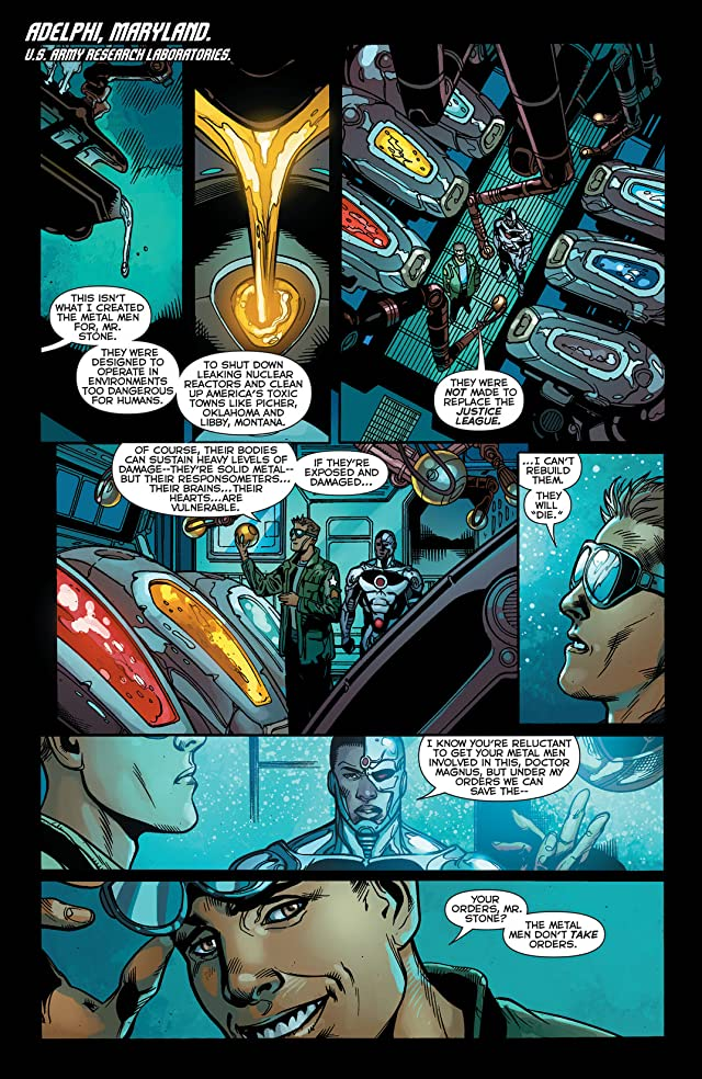 click for super-sized previews of Justice League (2011-) #29
