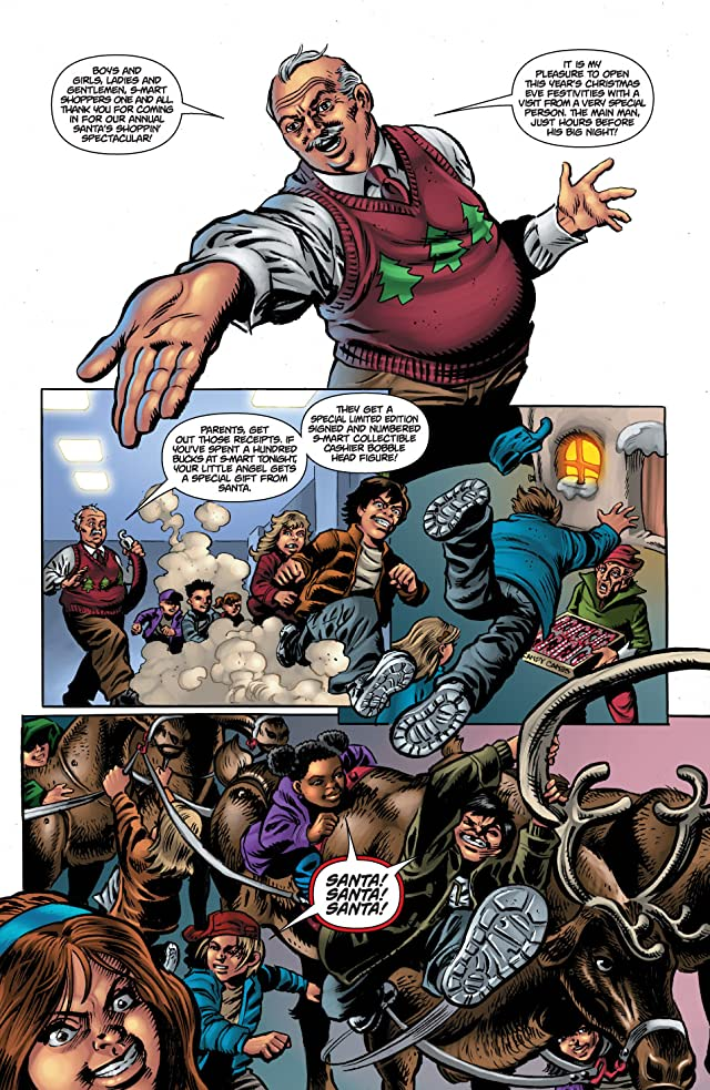 click for super-sized previews of Army of Darkness: Ash's Christmas Horror