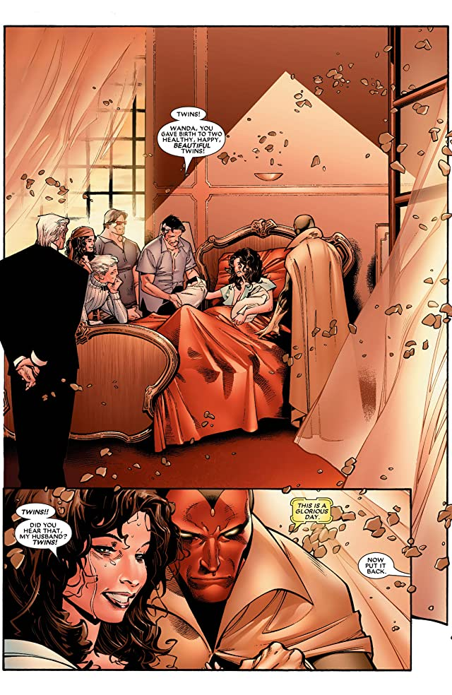 click for super-sized previews of House of M #1