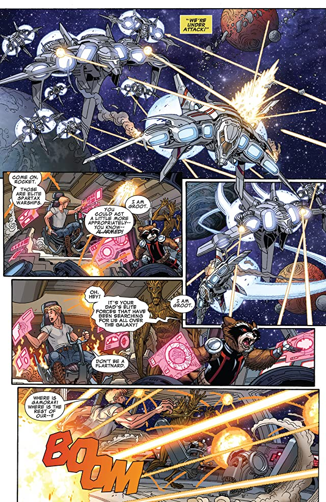 click for super-sized previews of Guardians of the Galaxy (2013-) #14