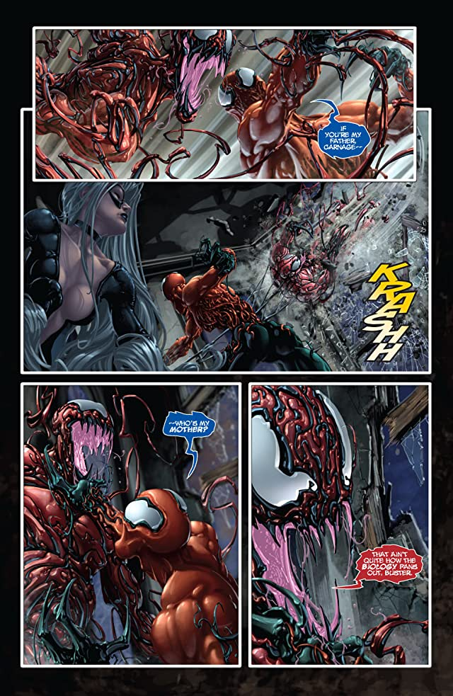 click for super-sized previews of Venom vs. Carnage #3