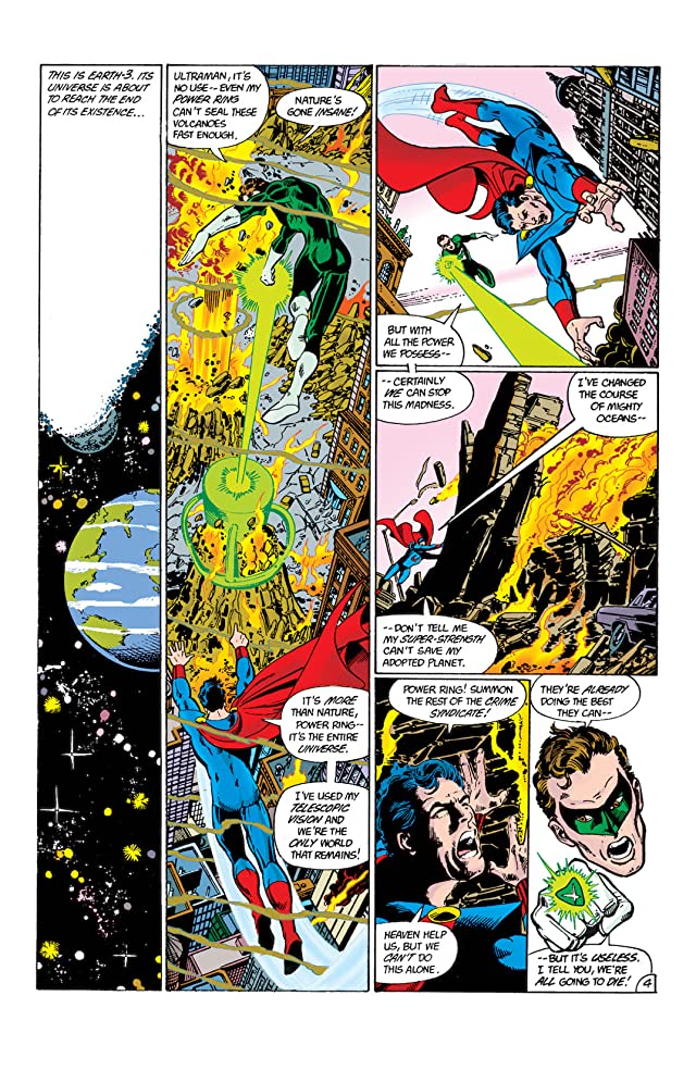 click for super-sized previews of Crisis on Infinite Earths #1