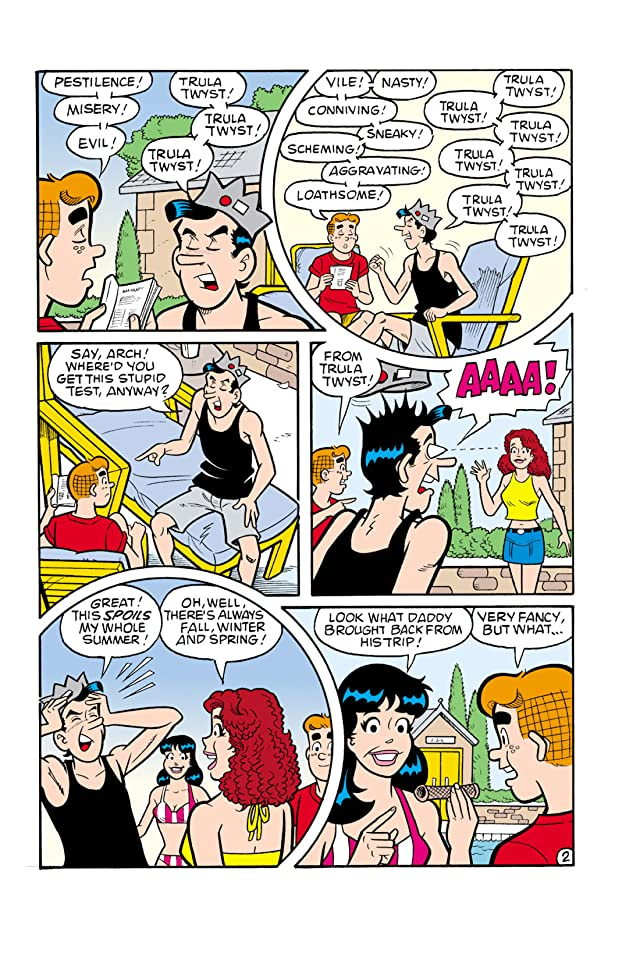 click for super-sized previews of Jughead #153