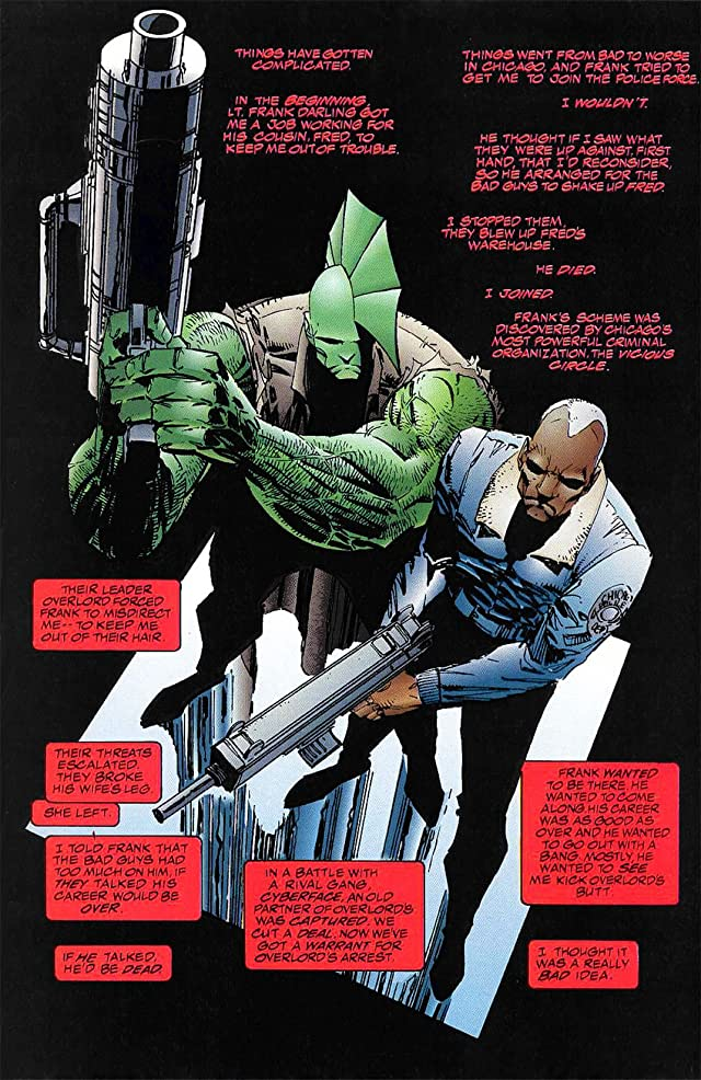 click for super-sized previews of Savage Dragon #7