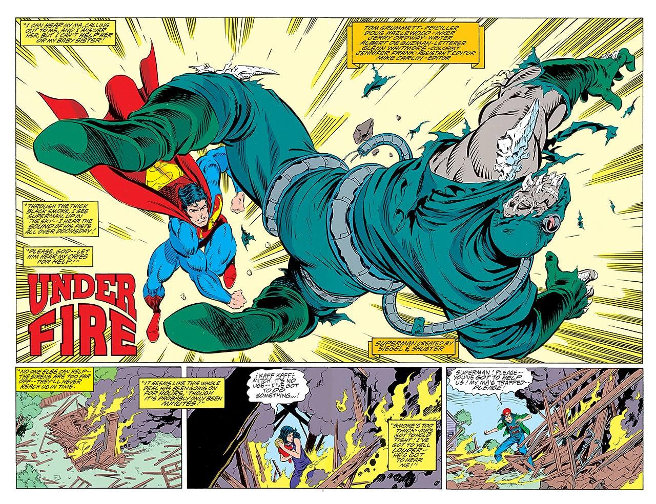 Adventures of Superman (1986-2006) #497