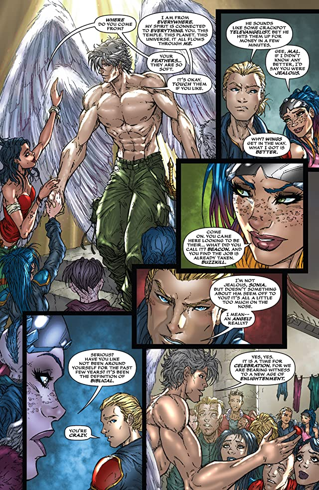 click for super-sized previews of All New Soulfire #4