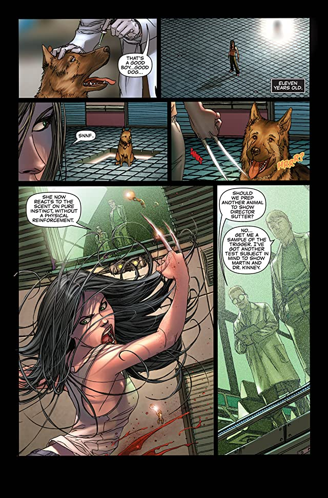 click for super-sized previews of X-23: Target X #3