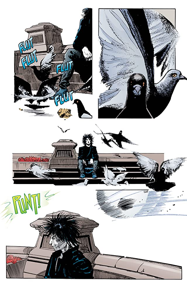 click for super-sized previews of The Sandman #8