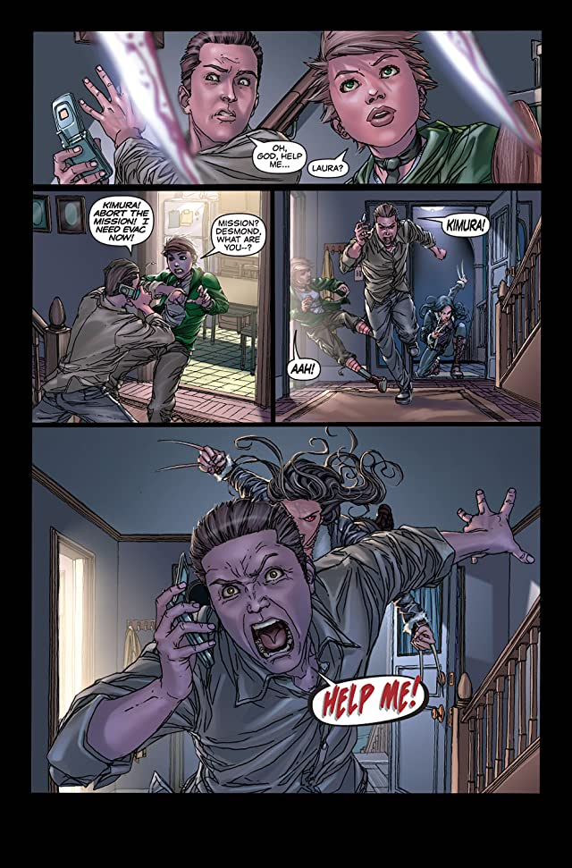 click for super-sized previews of X-23: Target X #4