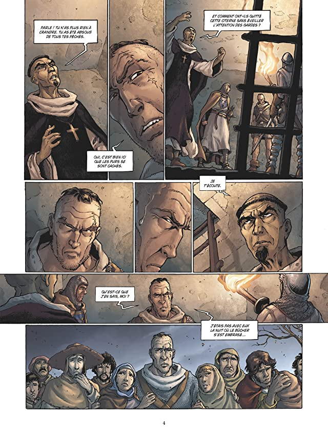 click for super-sized previews of Cathares Vol. 2: Chasse à l'homme