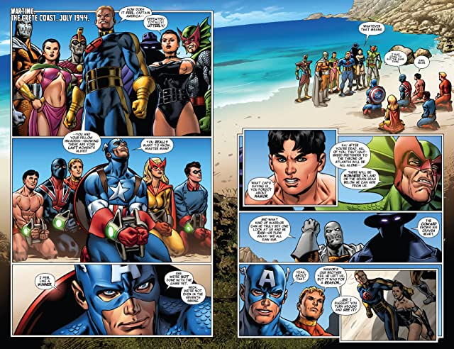 click for super-sized previews of All-New Invaders (2014-) #4