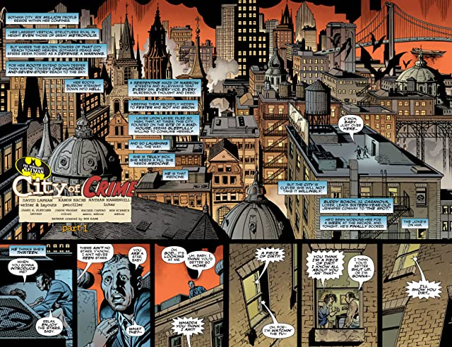 click for super-sized previews of Detective Comics (1937-2011) #801
