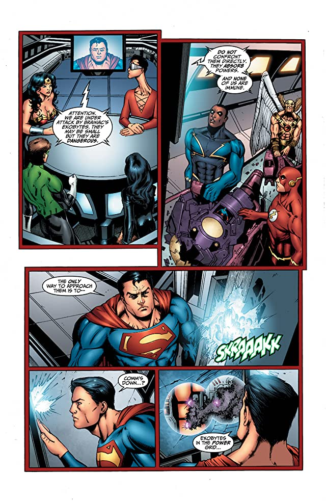 click for super-sized previews of DC Universe Online Legends #5
